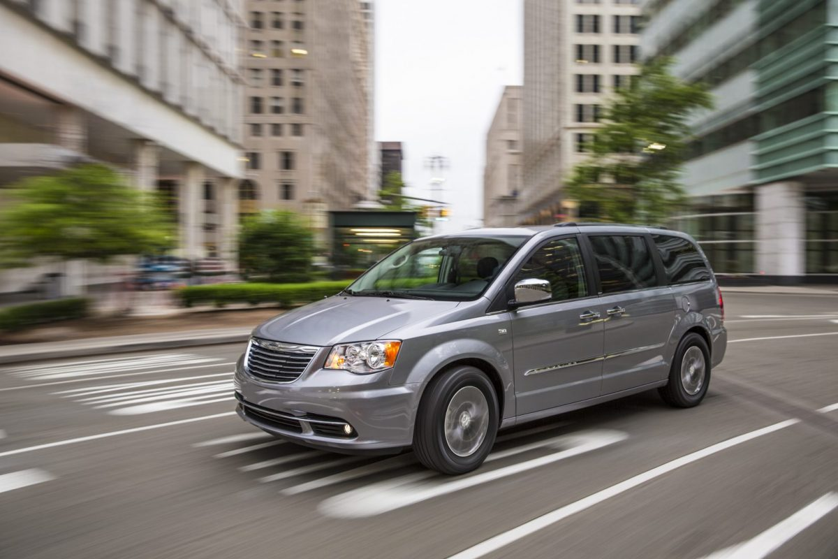 Family Car of Texas - Chrysler Town & Country 30th Anniversary Edition