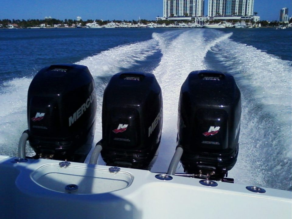 triple outboards