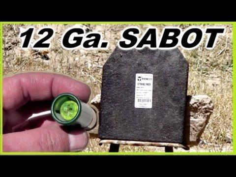 .58-Caliber, 12-Gauge Sabot. 5 Lbs. Gummi Bear. Somethin's Gotta Give.