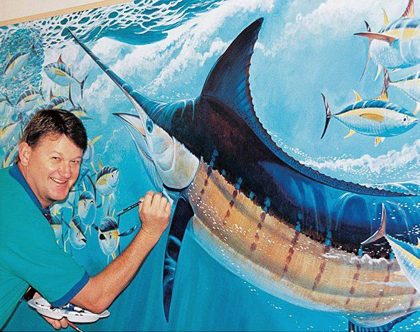 guy harvey to greet fans and sign merchandise at two texas appearances texas fish game magazine. Black Bedroom Furniture Sets. Home Design Ideas