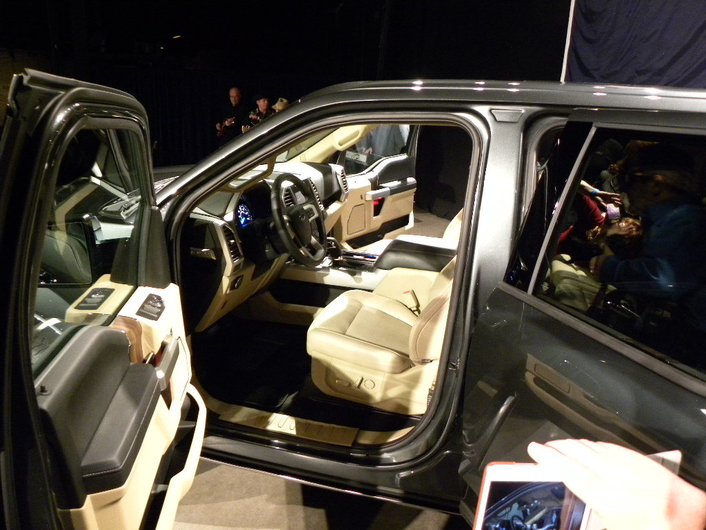 On example of the interior on the new Ford F-150