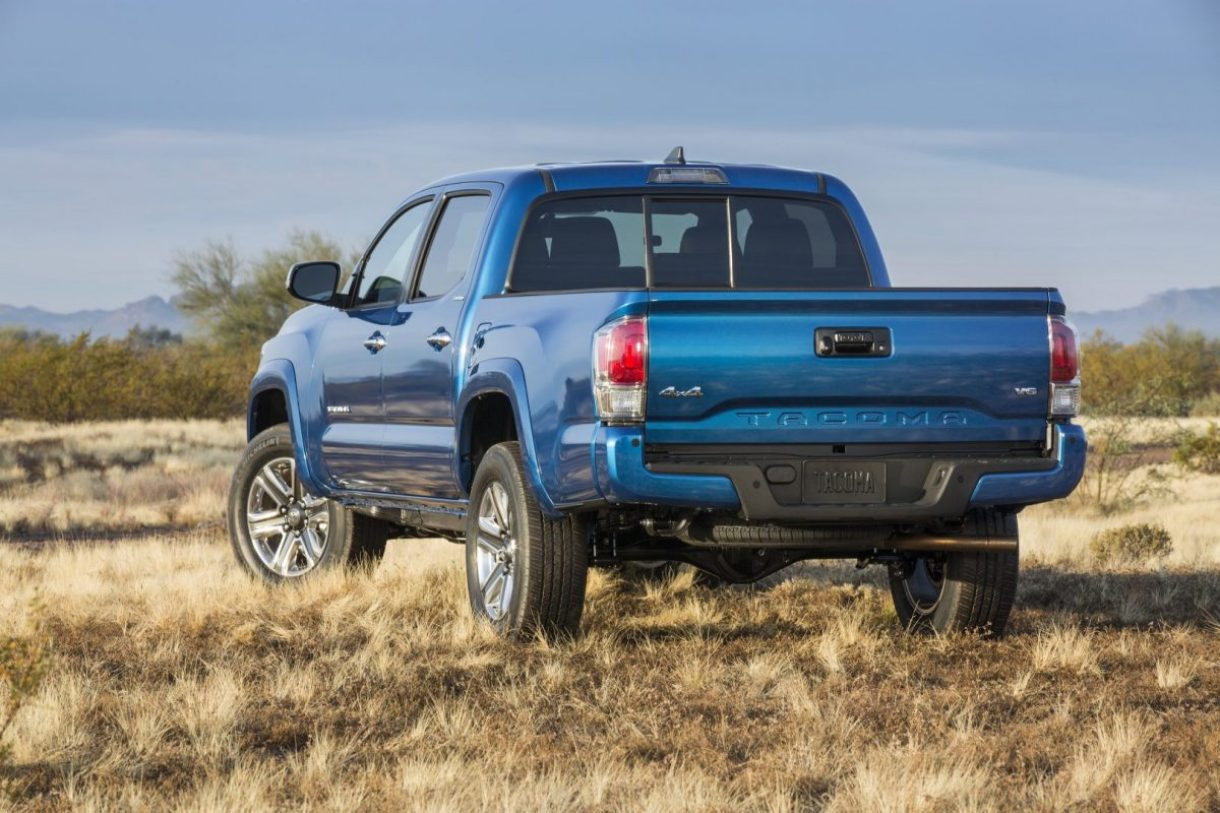 2016 Toyota Tacoma being introduced in Detroit