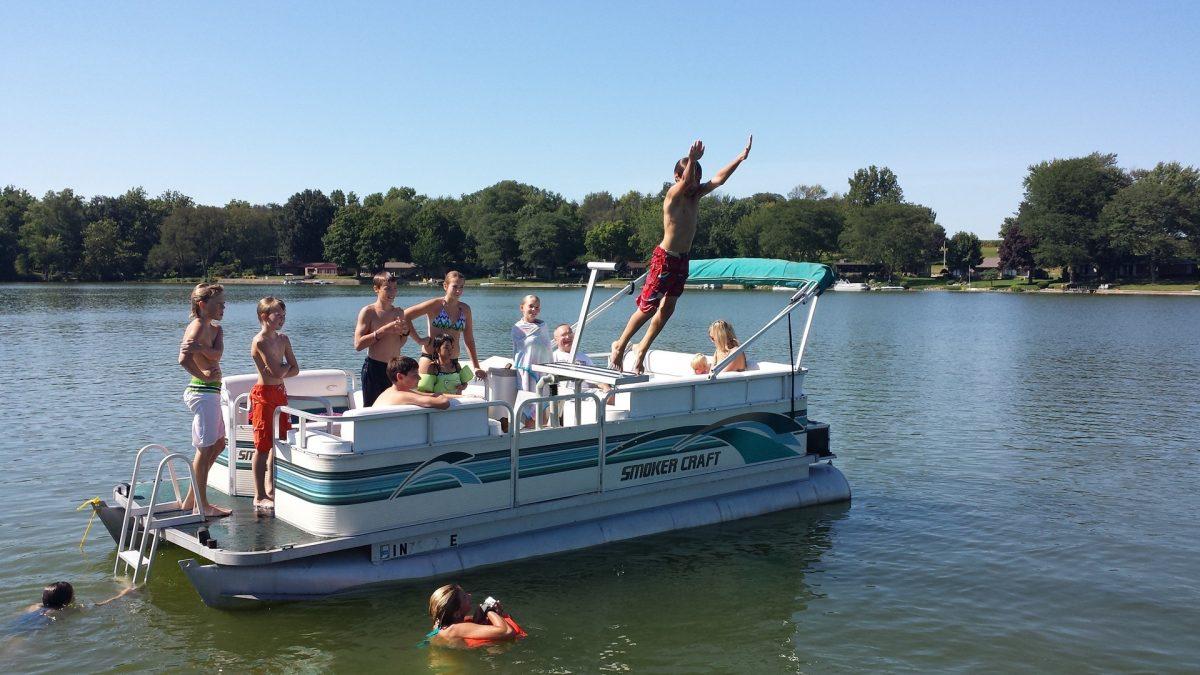 lillipad diving board