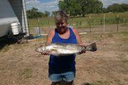 Glenda's big catch