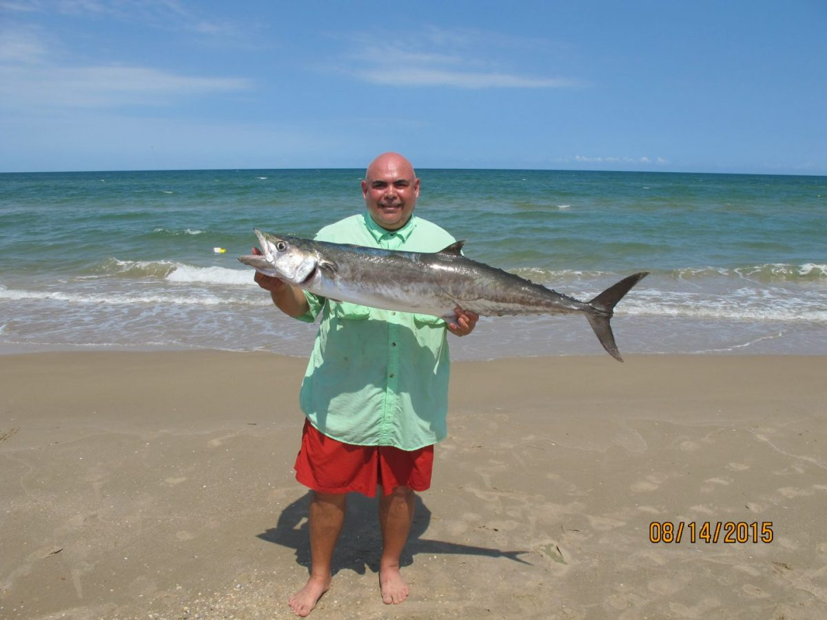 Big king off padre island national seashore texas fish for Padre island national seashore fishing report