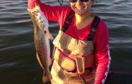 First wade fishing keeper