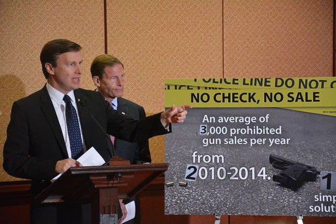 Senate Dems Introduce No Check No Sale Bill For Gun