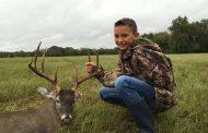 Cameron's First Deer