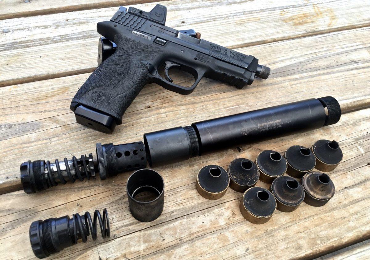 Griffin Armament 9mm Revolution Suppressor Review