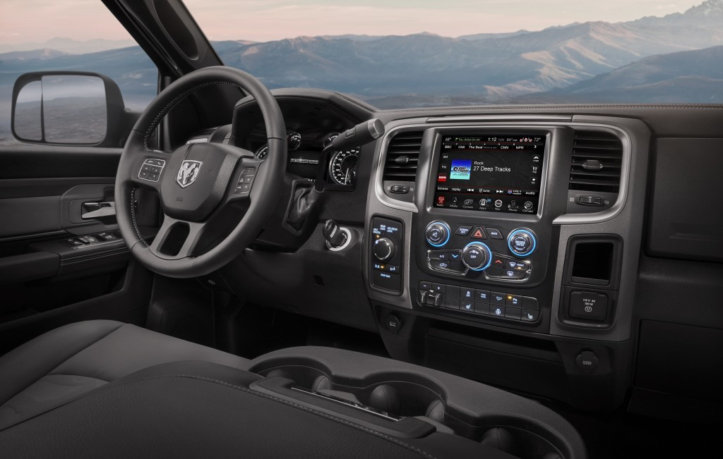 2017 Ram Power Wagon interior