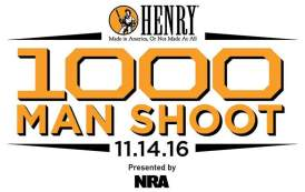 Henry 1,000 Man Shoot to Benefit the NRA