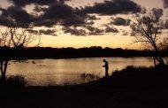 Texas Hotshots - Evening Fishing at Nelson Park Lake, Abilene, Texas