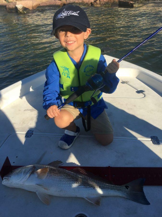 Big Slot Red Caught on Little Zebco by Himself