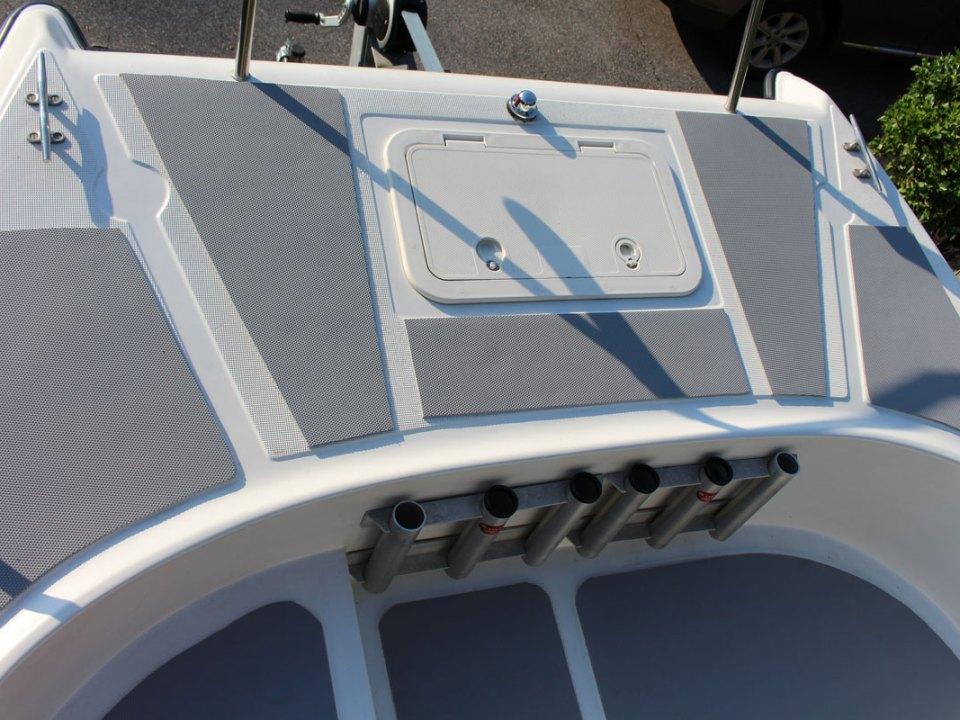 seadek on a boat