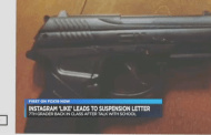 Middle School Student Suspended for