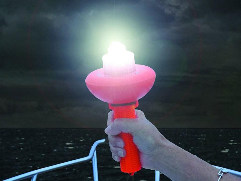 electronic flare