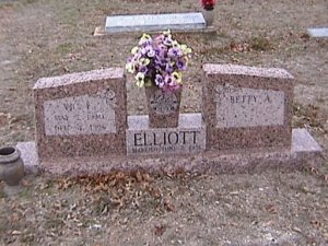 Victor Elliott grave