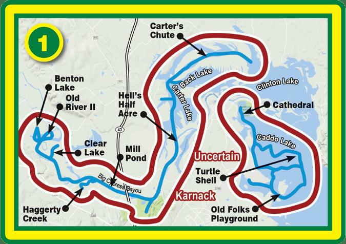 Caddo Lake Paddling Trails