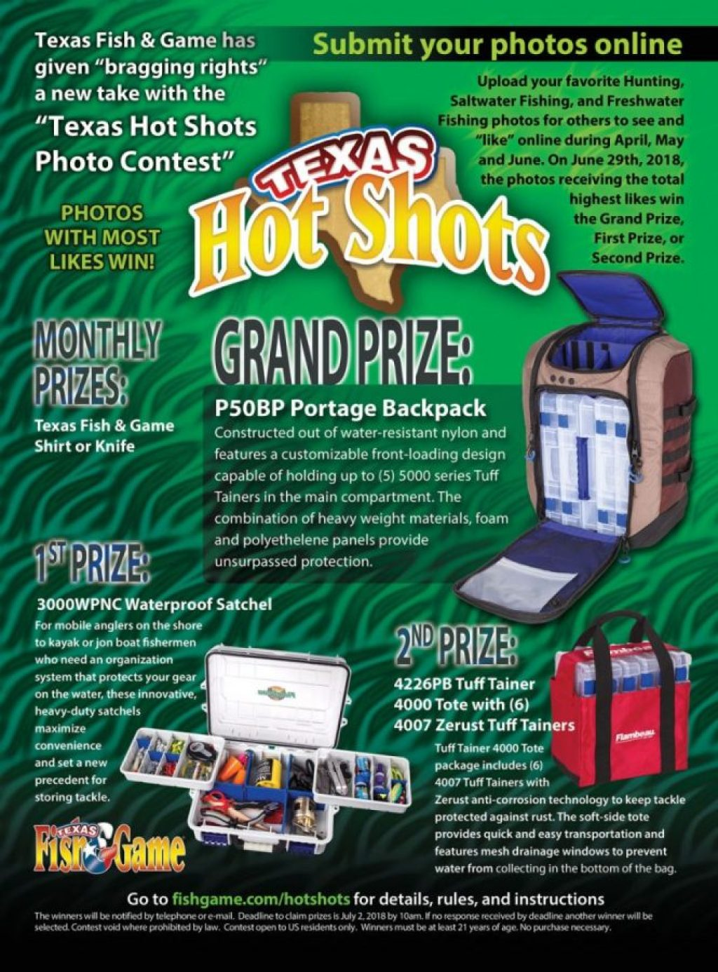 Texas Fish & Game HotShots