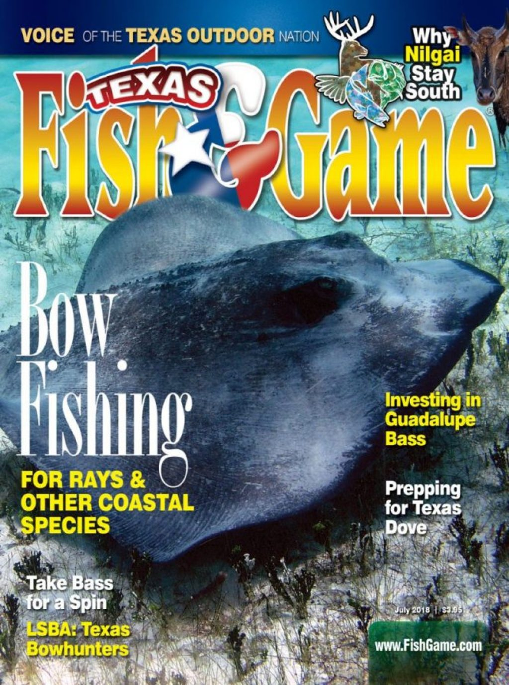 Texas Fish & Game July 2018