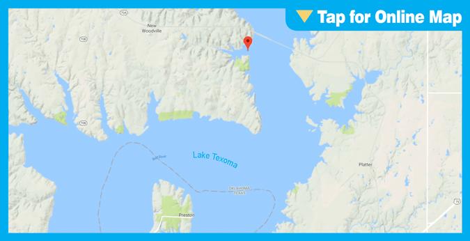 Lake Texoma: Alberta Creek