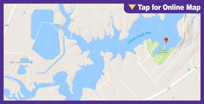Coleto Creek: Dam Area