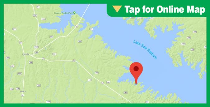 Sam Rayburn Offshore River Ledges