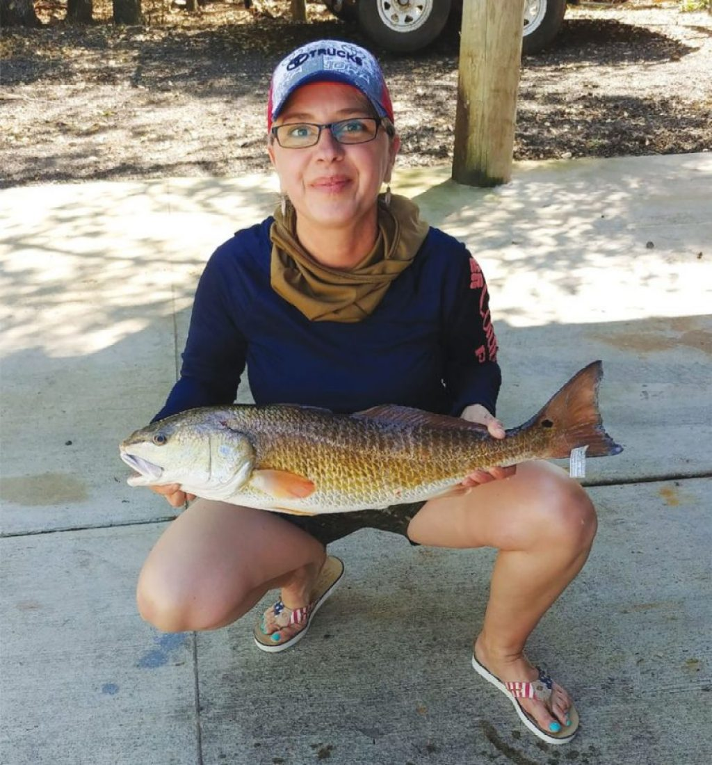 Arroyo City redfish