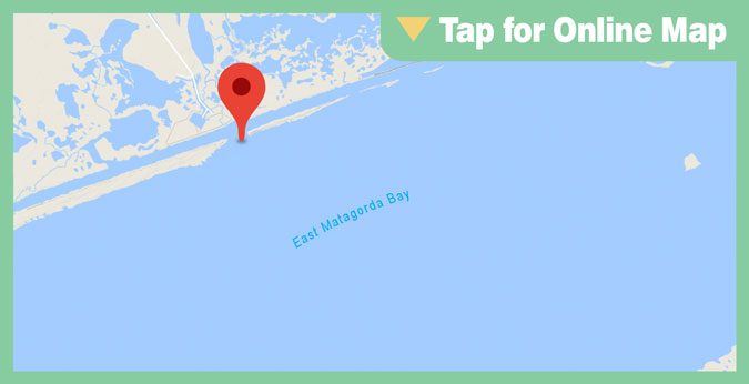 East Matagorda Bay: Boggy Cut