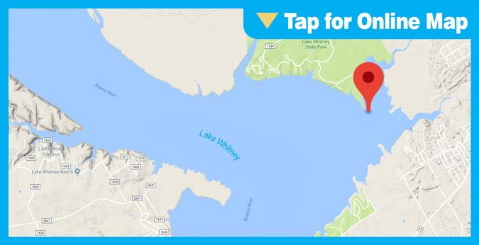 Lake Whitney HOTSPOT: Whitney Hump