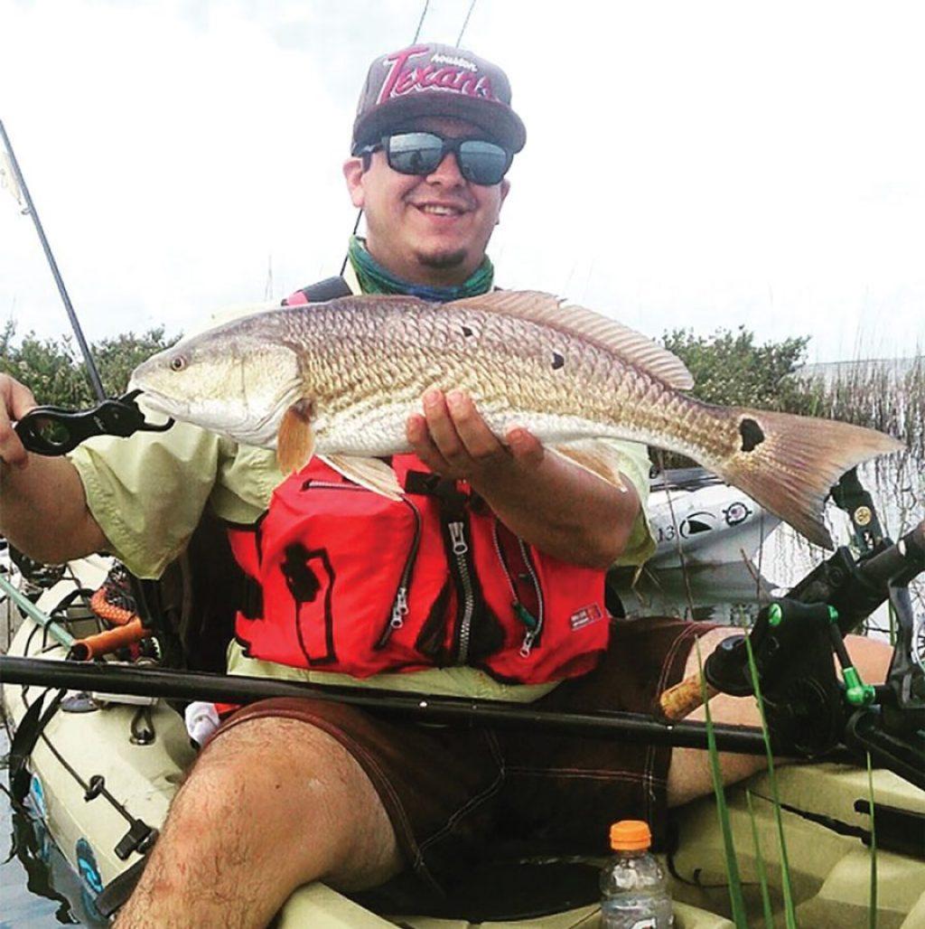 kayak laguna madre redfish