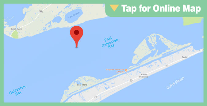 Galveston East Bay HOTSPOT: Deep Reef