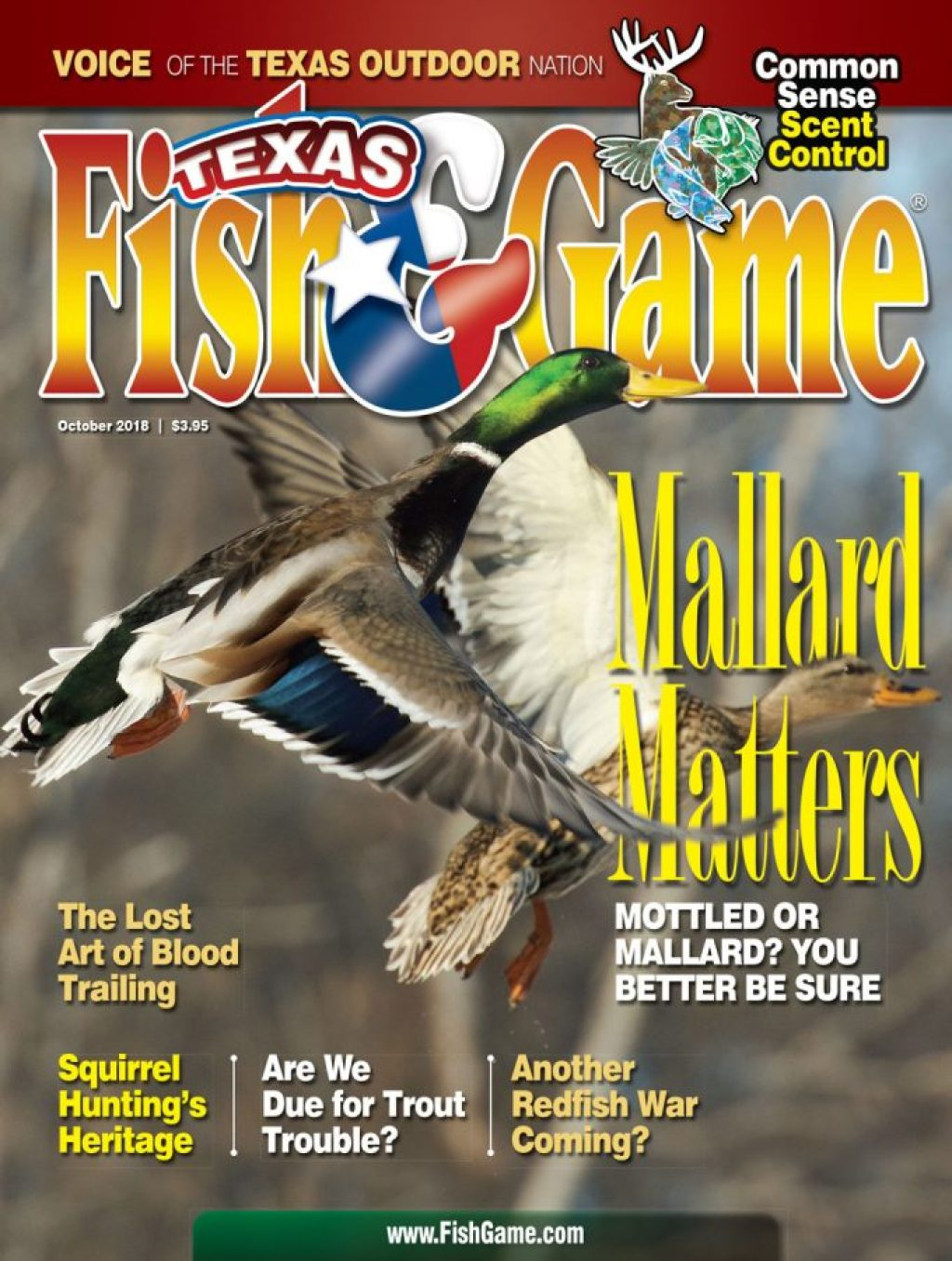 Texas Fish & Game October 2018