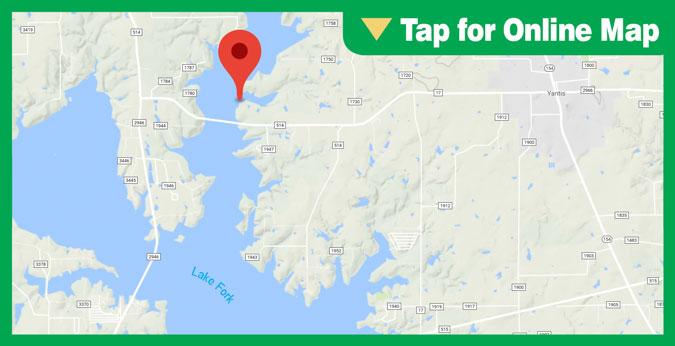 Lake Fork HOTSPOT: Upper Lake