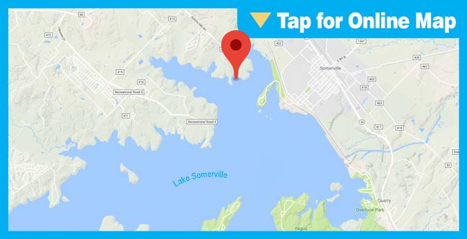 Lake Somerville HOTSPOT: Brushy Point Shoreline