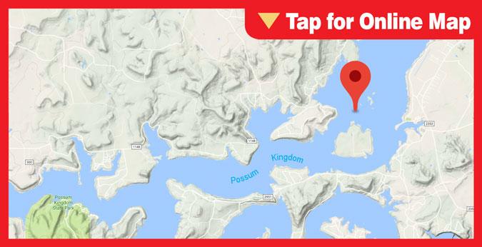 Lake Possum Kingdom HOTSPOT: Costello Island