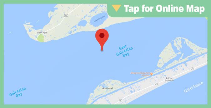 East Galveston Bay HOTSPOT: Deep Reef