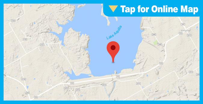 Lake Aquilla HOTSPOT: Deep Humps