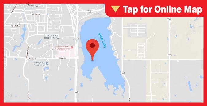 Kirby Reservoir HOTSPOT: Main Lake