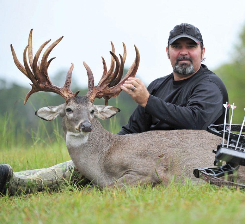 A.J. Downs's 28-point buck was taken on open range land