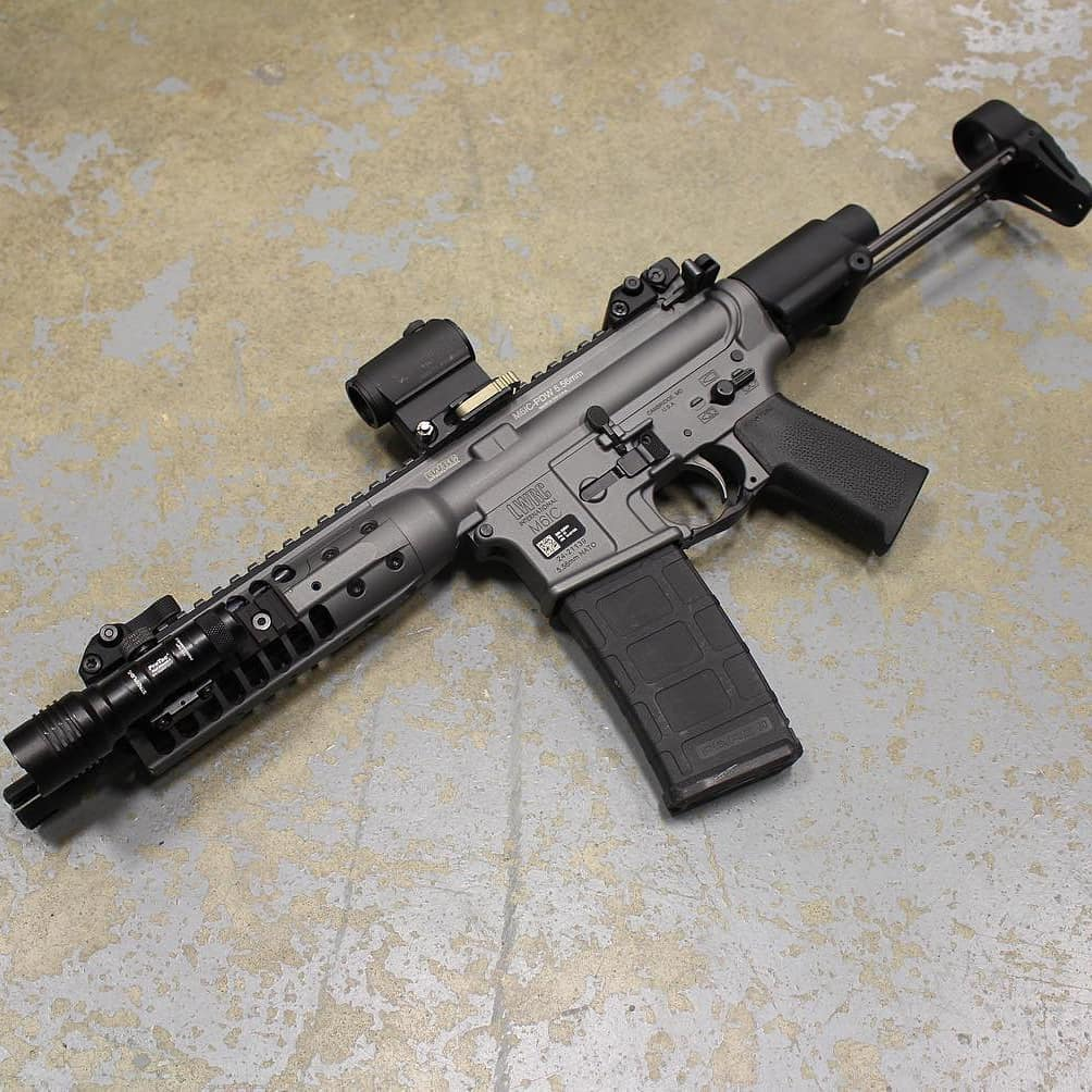 Todd used this LWRC PDW in 5.56 with 64 grain Nosler Accubond.