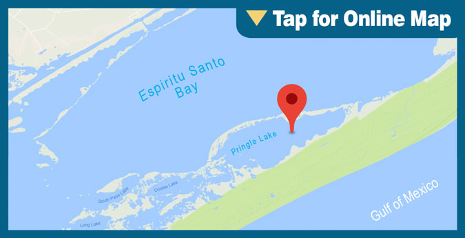 Espiritu Santo Bay HOTSPOT: Pringle Lake