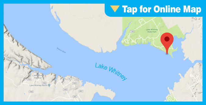 Lake Whitney HOTSPOT: Main Lake