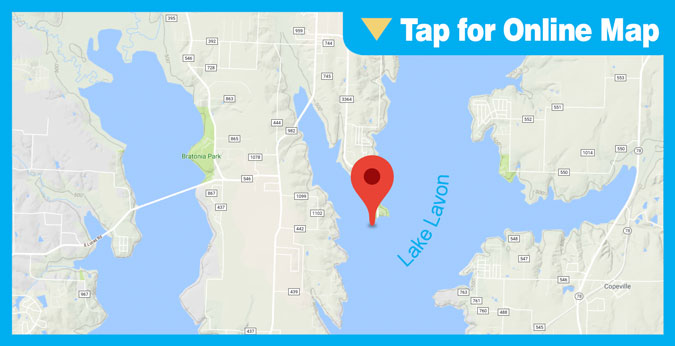 Lake Lavon HOTSPOT: Main Lake