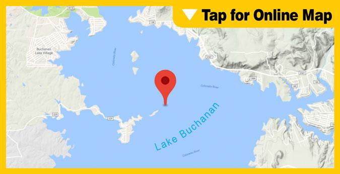 Lake Buchanan HOTSPOT: Main River Channel