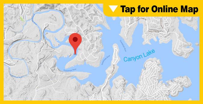 Canyon Lake HOTSPOT: Guadalupe River Area