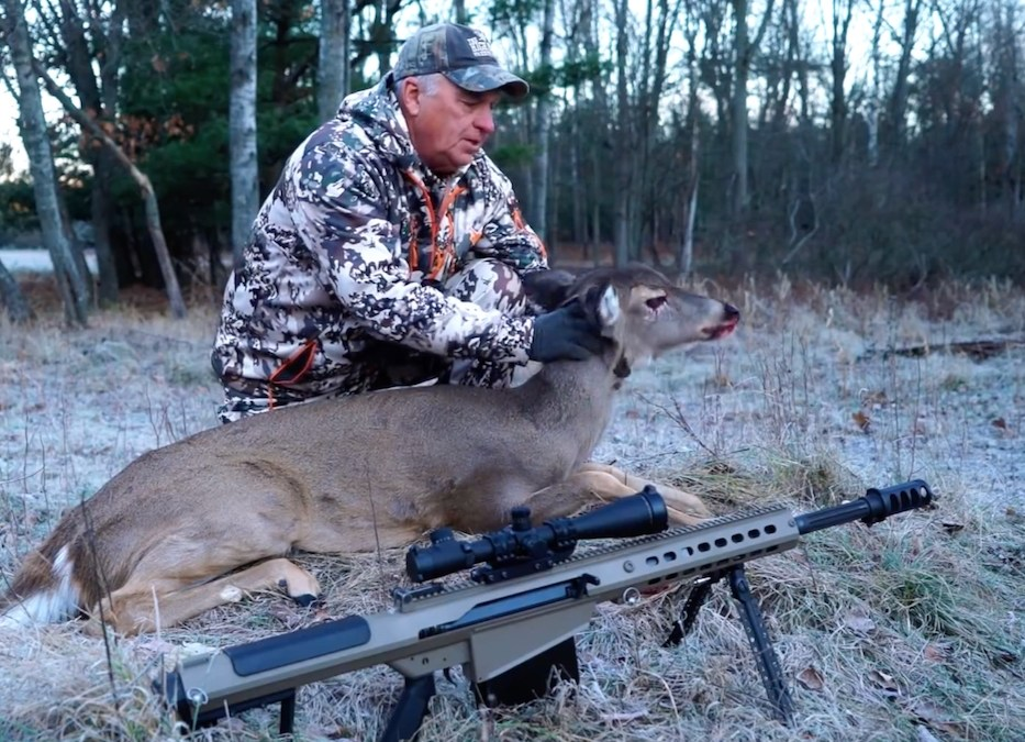 Deer Headshot with 50BMG
