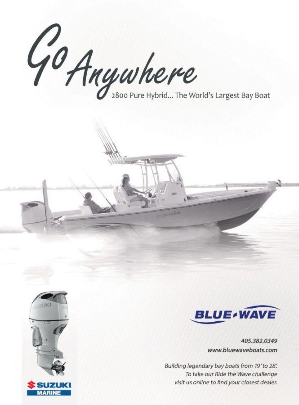 Suzuki Marine Blue Wave