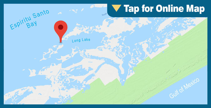 Espiritu Santo Bay HOTSPOT: Long Lake