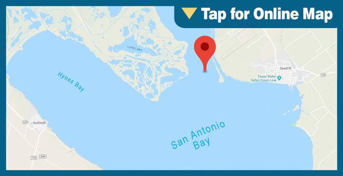 San Antonio Bay HOTSPOT: Guadalupe Bay East Shore